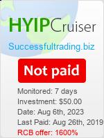 ссылка на мониторинг https://www.hyip-cruiser.com/?a=details&lid=7523