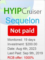 ссылка на мониторинг https://www.hyip-cruiser.com/?a=details&lid=7542