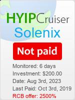 ссылка на мониторинг https://www.hyip-cruiser.com/?a=details&lid=7635