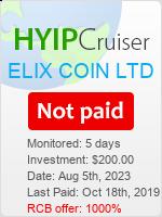 ссылка на мониторинг https://www.hyip-cruiser.com/?a=details&lid=7673