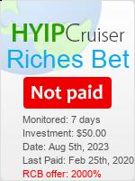 ссылка на мониторинг https://www.hyip-cruiser.com/?a=details&lid=7938