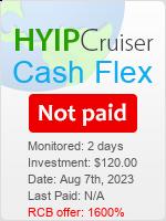 ссылка на мониторинг https://www.hyip-cruiser.com/?a=details&lid=7939