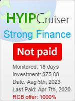 ссылка на мониторинг https://www.hyip-cruiser.com/?a=details&lid=8003