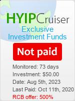 ссылка на мониторинг https://www.hyip-cruiser.com/?a=details&lid=8178